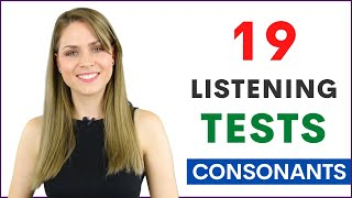 19 Listening Practice Teṡts Learn How To Pronounce English Consonant Sounds