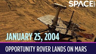 OTD in Space – January 25: Opportunity Rover Lands on Mars
