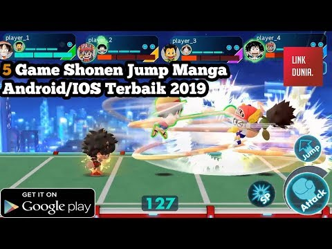 6 Best Shonen Jump Games Anime Terbaik Android/IOS 2019 & 2020 | All Heroes Shonen Jump Anime Games