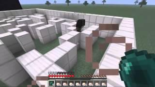 MineCraft Прохождение карты    MiSTiK и LaGGeR