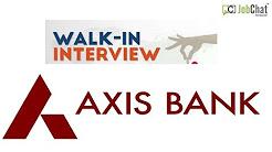 Axis Bank Job Opening July2018