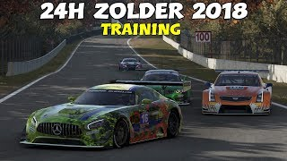 24H ZOLDER 2018 / Training • GT • 24H SERIES 2018