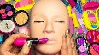 ASMR Fake Makeup on Mannequin (Whispered)