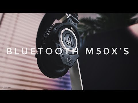 Add Bluetooth To Your Audio Technica M50X Headphones!