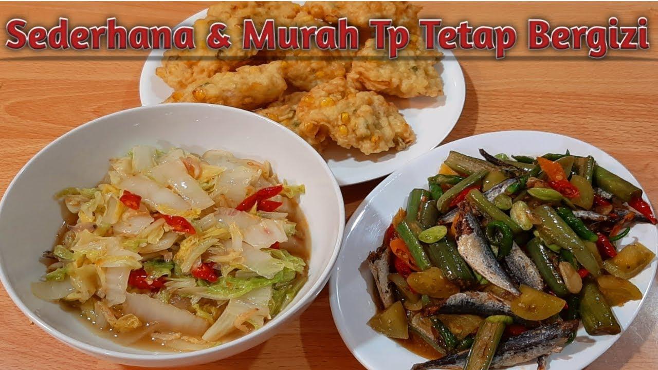 Referensi Masakan Rumahan Sehari Hari Menu Makan Sederhana Dan