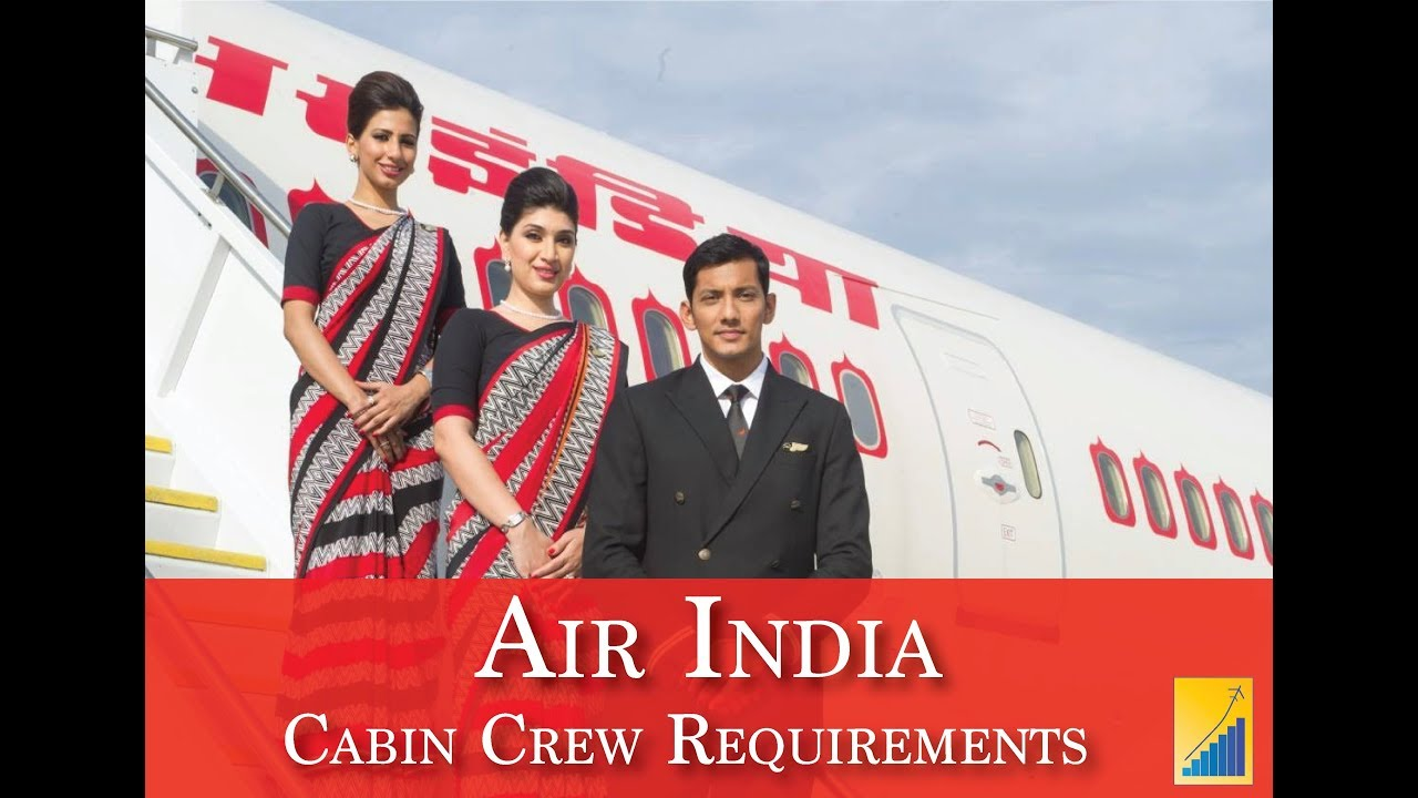 Air hostess job walk in interview requirements - Air India