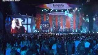 Парк Горького Gorky Park Moscow Calling Eurovision 2009