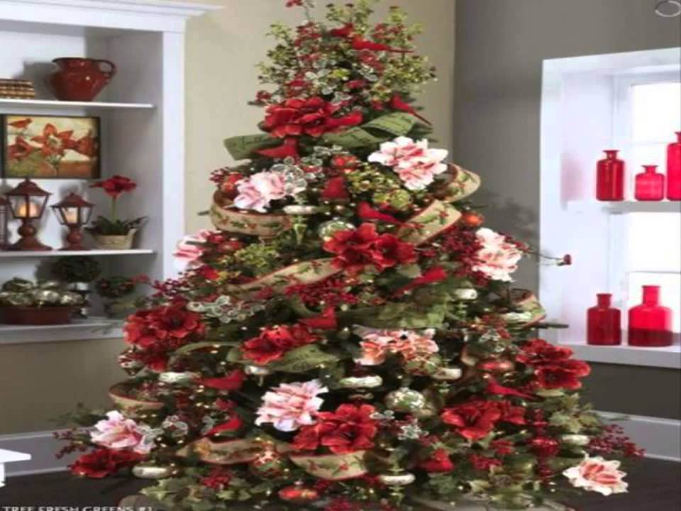 Christmas Tree Decorating Ideas Best Design YouTube - Best red christmas decor ideas