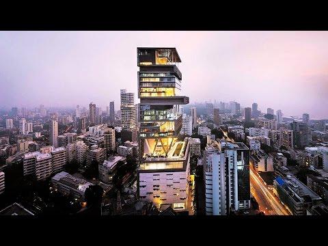 Mukesh Nita Ambani's Billion-Dollar Home – Antilia in Mumbai | Celebrity Homes