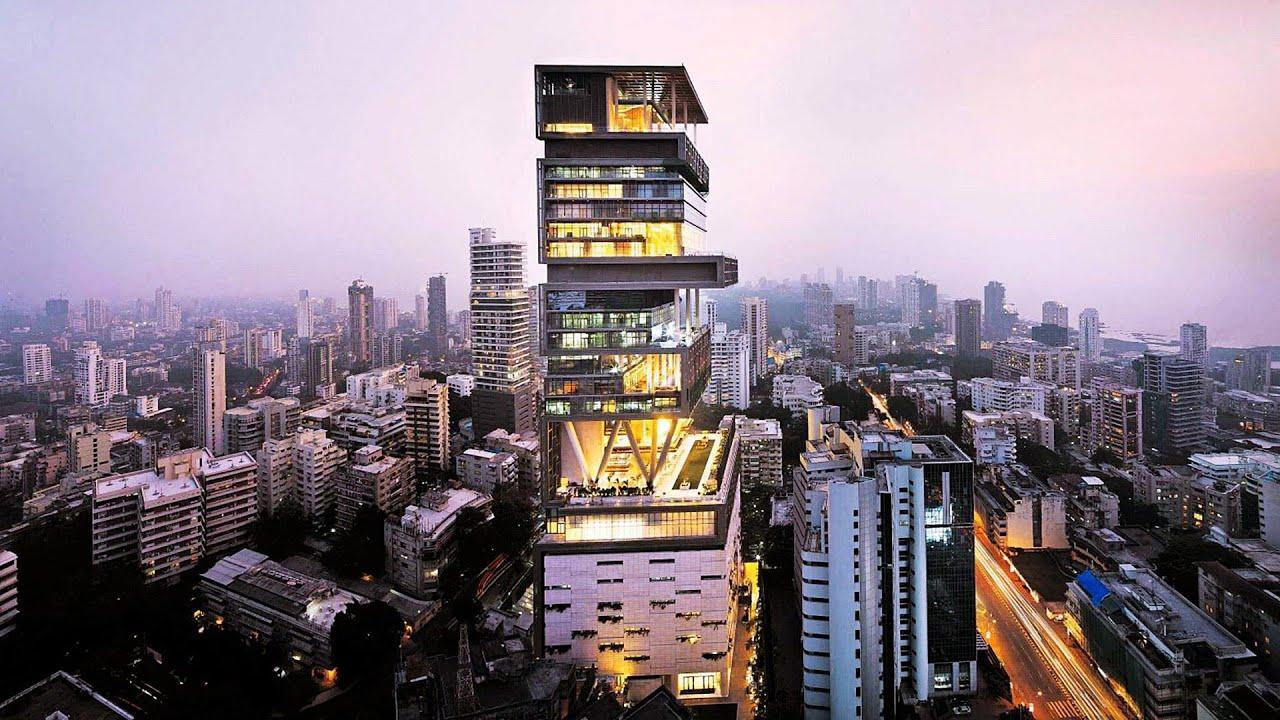 Mukesh Nita Ambani's Billion-Dollar Home – Antilia in ...
