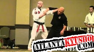 Session on Tuite Jitsu (Joint Locking) Principles at DKI Camp