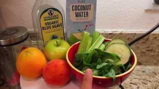 Green Smoothie Recipe - Kids Approved! - Asimplysimplelife