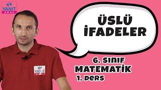 Üslü İfadeler | Doğal Sayılar | 6. Sınıf Matematik Konu Anlatımları #6mtmtk