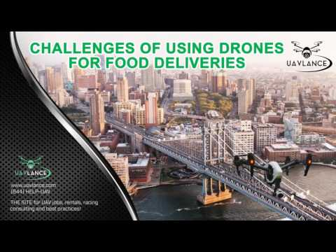 Can Drones Be Used for Food Deliveries