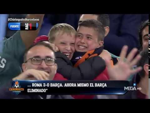 Así NARRÓ 'RAC 1' el GOL DE MANOLAS que ELIMINÓ al Barça de la CHAMPIONS en Roma