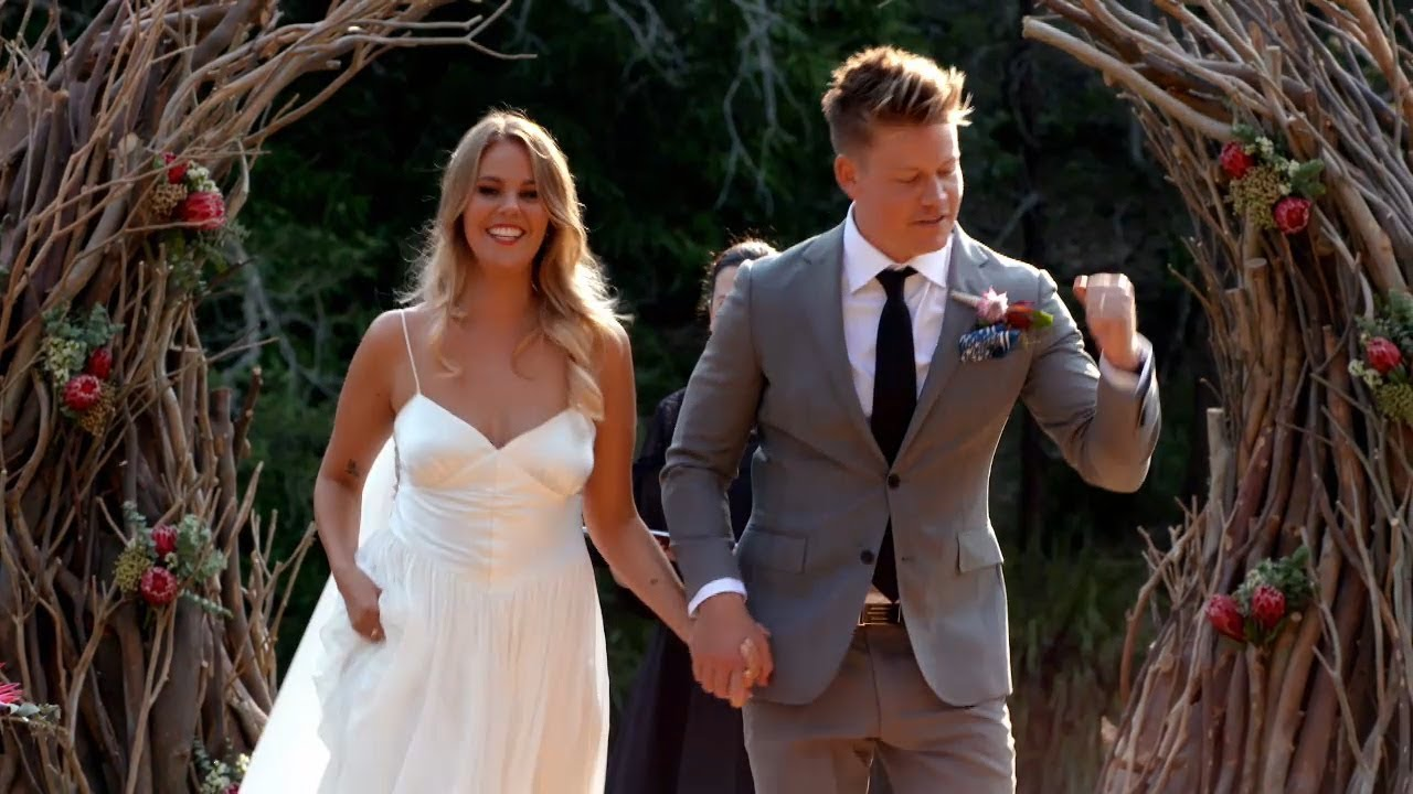 Blair and Sean's wedding | Married at First Sight Australia 2018