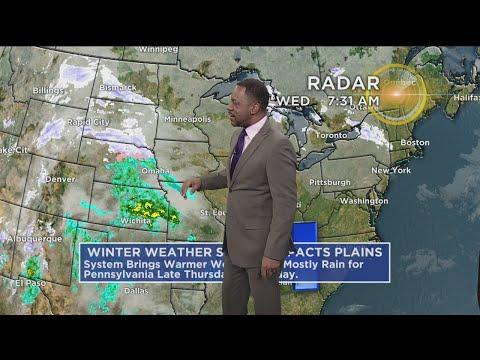 KDKA-TV Afternoon Forecast (12/26)