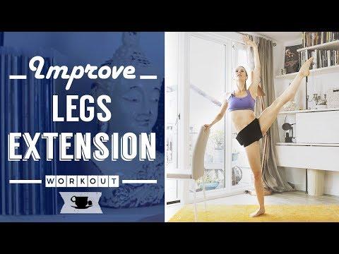 The Secret of a Ballerina Legs Extension IS STRENGTH
