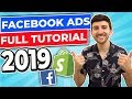 Facebook Ads Full Tutorial   Dropshipping & E-Commerce 2019