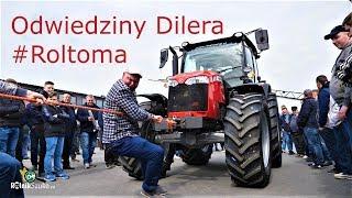 Odwiedziny Dilera ROLTOMA w Sokołach - MASSEY FERGUSON,  HORSCH, DAFAGRO i wiele innych