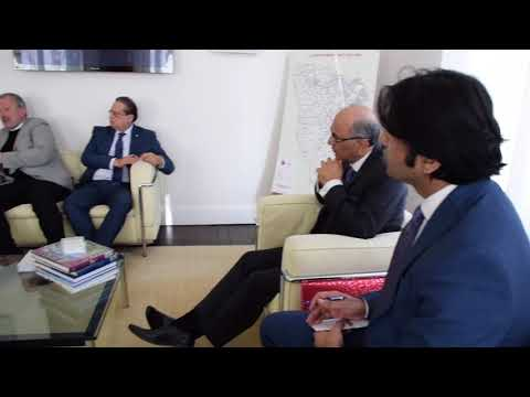 Ambassador of Pakistan to France met Mr  Pierre Bédier President of General Council of Yvelines Dis