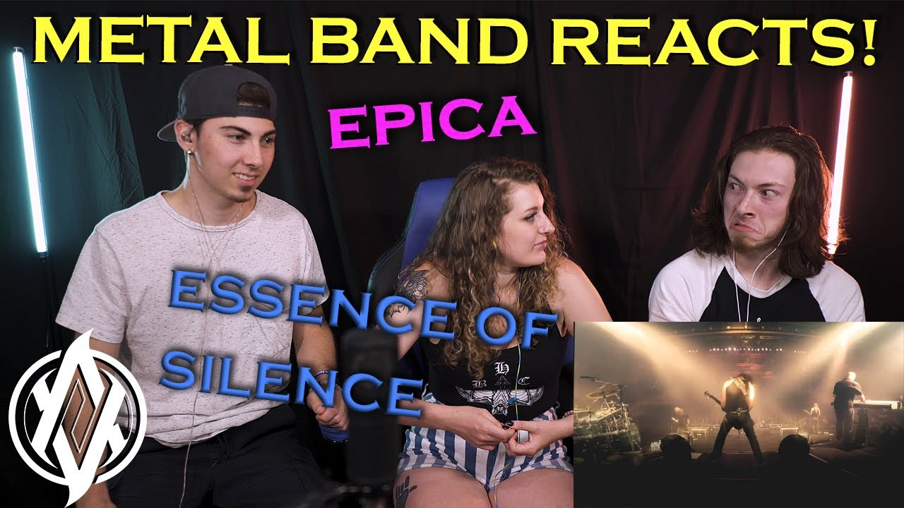 Metal Band Reacts! | Epica - Essence of Silence (Live!)