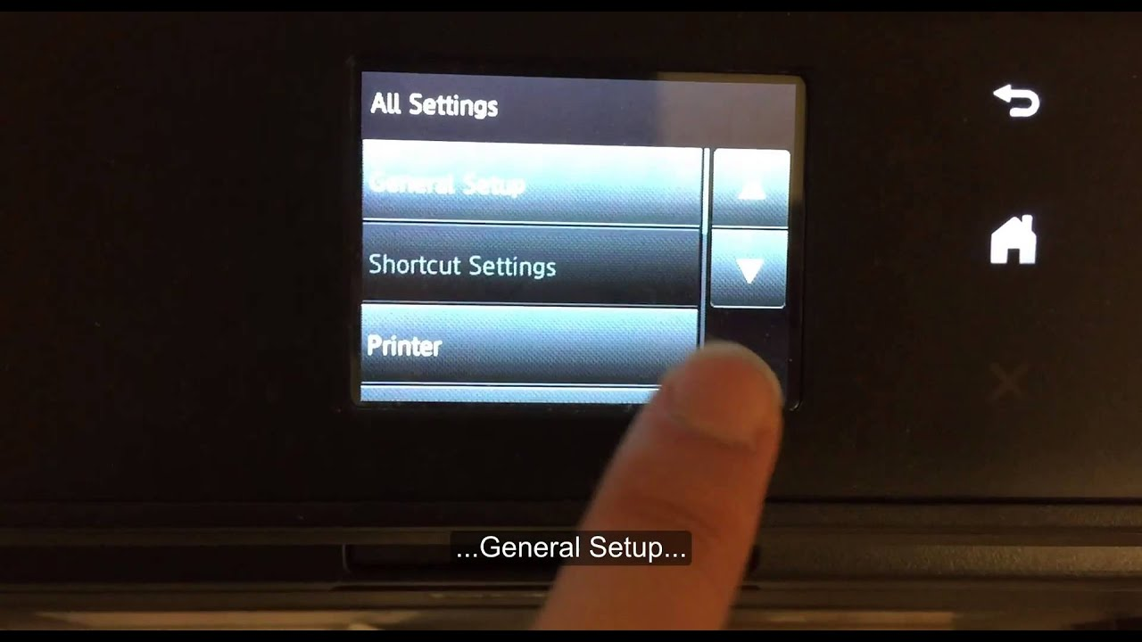 HL L2380DW - How to reset the toner cartridge settings for Brother ...