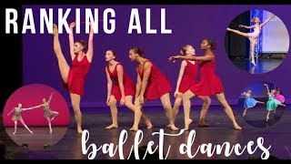 Dance Moms - Ranking all Ballet Dances