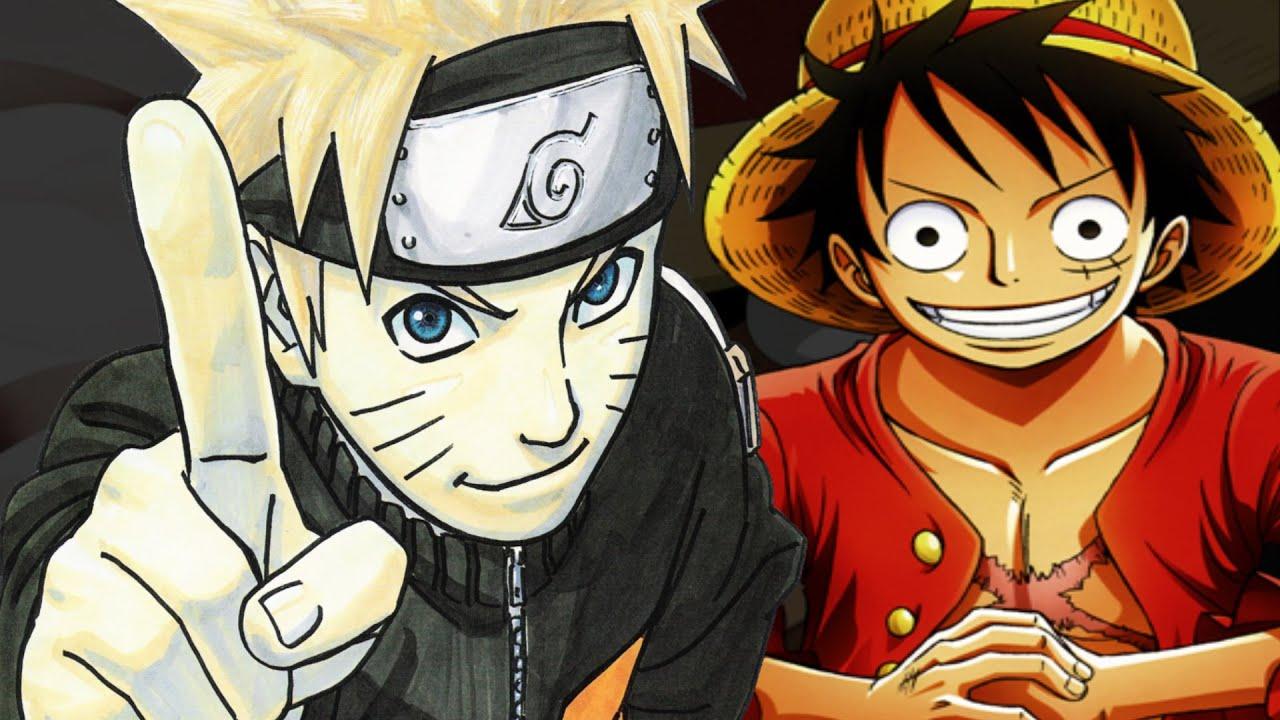 ¿ Porqué Naruto Es Más Popular Que One Piece