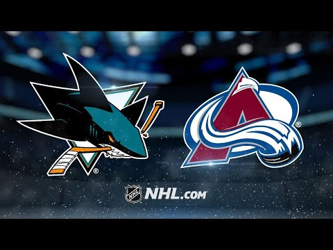 Avalanche top Sharks for ninth straight home win