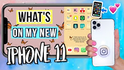 MEIN NEUES IPHONE 11 PRO 👀 Alle APPs + HINTERGRÜNDE! What's on my phone 2019 Cali Kessy
