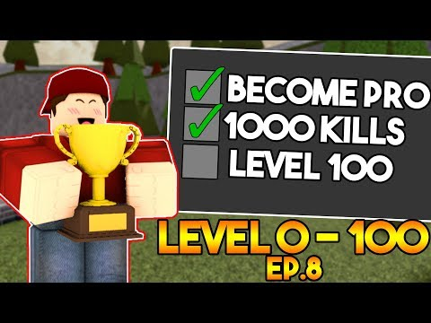 LEVEL 0 TO 100 IN ARSENAL! (1000 KILLS) - EP.8 (ROBLOX)