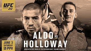 UFC 212: Aldo vs. Holloway Promo
