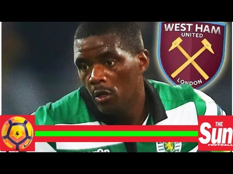 West ham renew interest in william carvalho after healing rift with sporting lisbon after 'dildo br