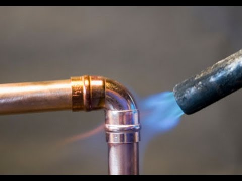 How To Prepare And Solder Copper Pipes And Fittings. - Youtube