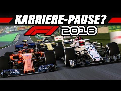 Warum meine F1 2018 Karriere eine Pause machen muss :(