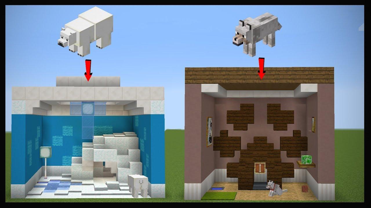 10 Minecraft Pet Room Designs!