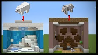 10 Minecraft Pet Room Designs!