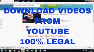 How To Download Videos From Youtube Without Any Software & Legally