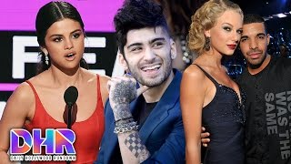 "5 MUST-SEE Moments From 2016 AMAs - Taylor Swift RESPONDS To Drake's ""Bad Blood"" Ad (DHR)"