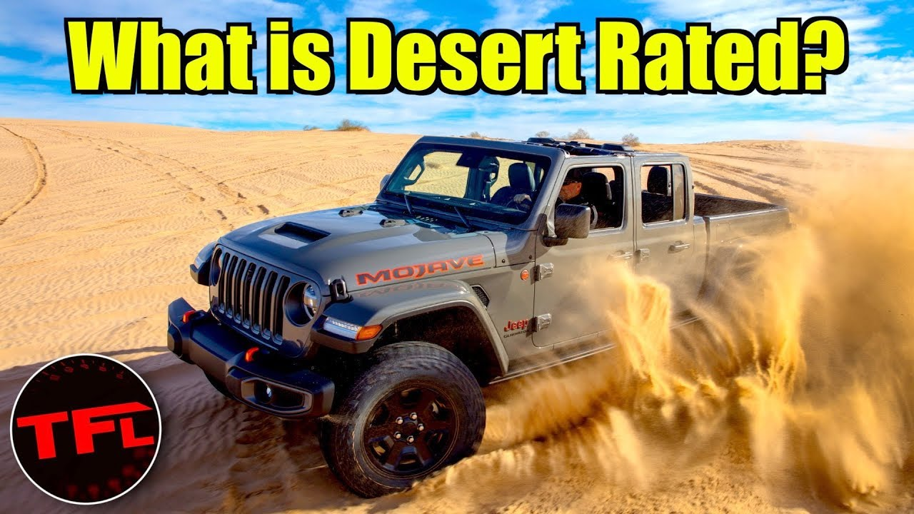 Desert Rated! Is the 2020 Jeep Gladiator Mojave Better Than the Rubicon?