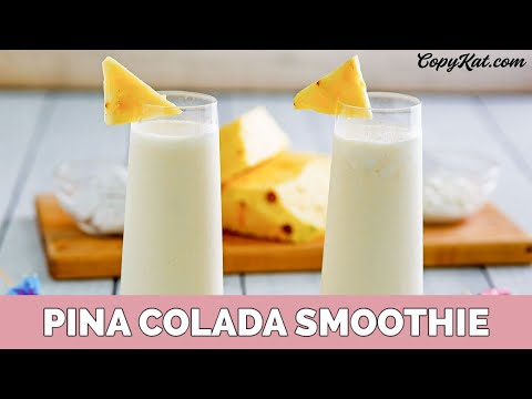 how to make pina colada virgin from scratch