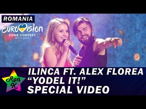 "Ilinca ft. Alex Florea - ""Yodel It!"" - Special Multicam video - Eurovision 2017 (Romania)"