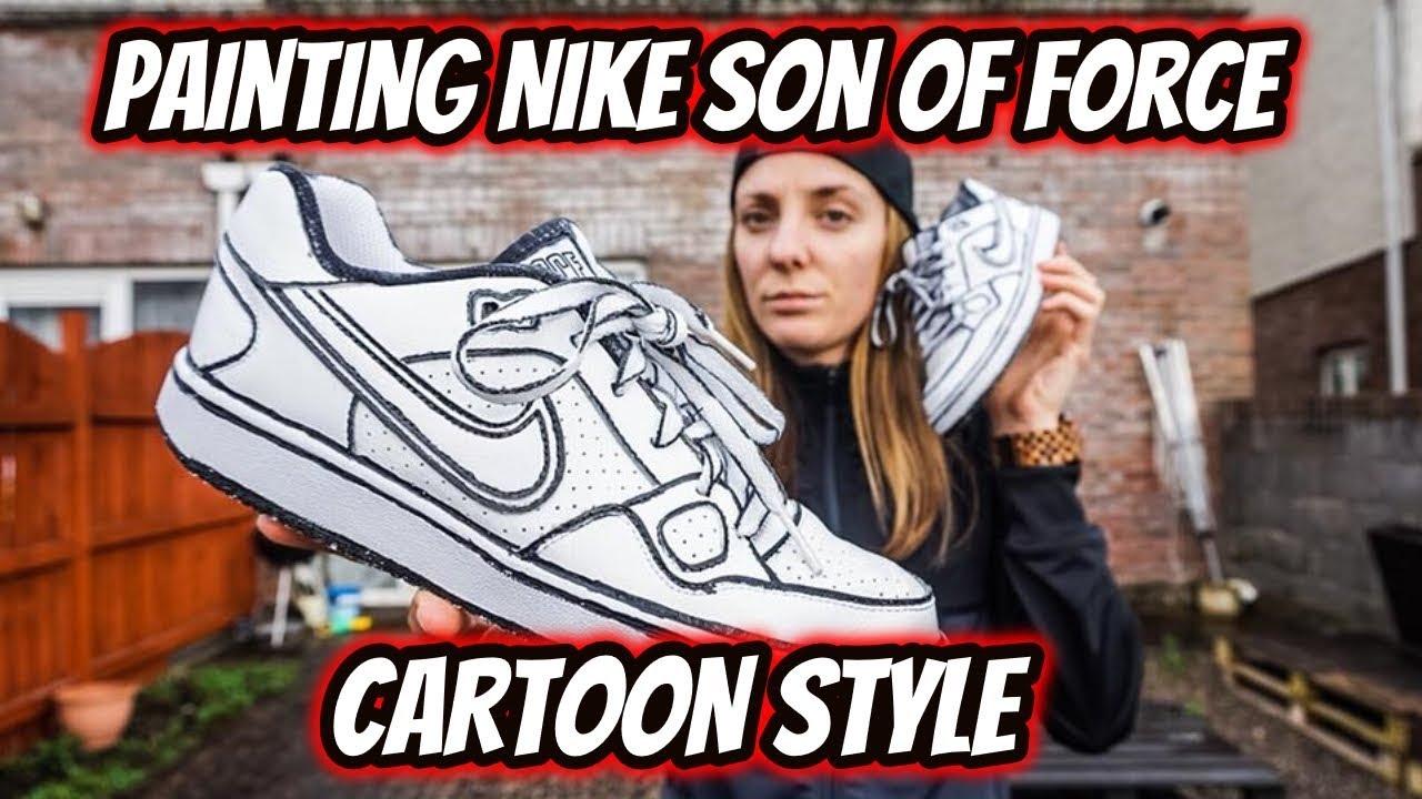 nike son of force custom