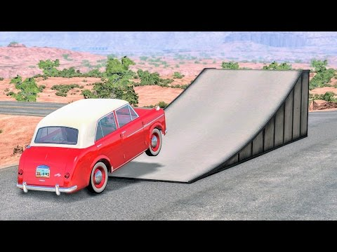 Epic High Speed Jumps #10 – BeamNG Drive