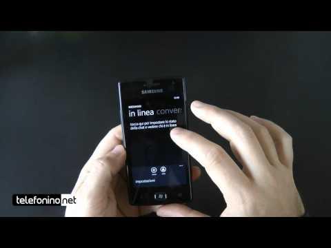 Samsung Omnia W videoreview da Telefonino.net_HD d