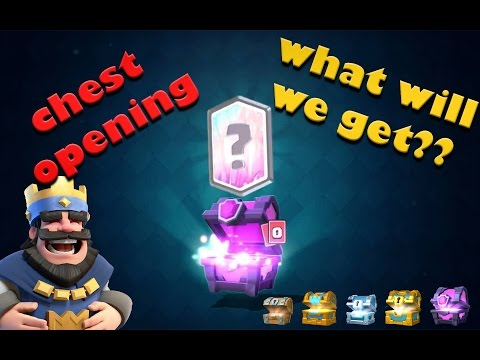 clash royale chest opening | WHAT WILL WE GET??