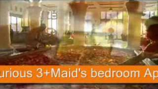 Luxurious 3+Maid's bedroom Apartment for sale at Trident Grand Residence Part 1