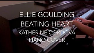 Ellie Goulding - Beating Heart (HQ piano cover) Divergent