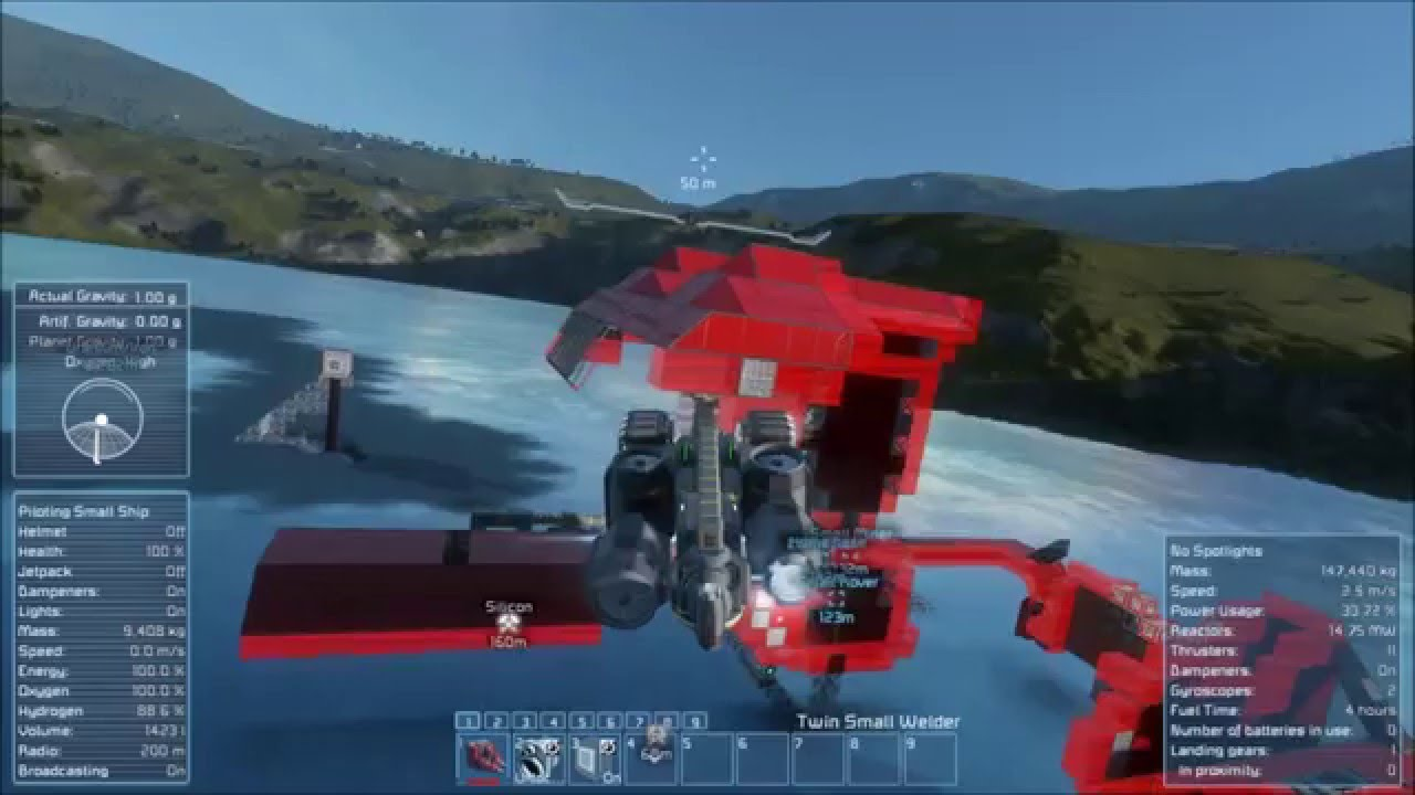 Space Engineers How To Build A Rover